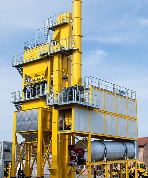 Asphalt Plant Equipment Australia by MARINI