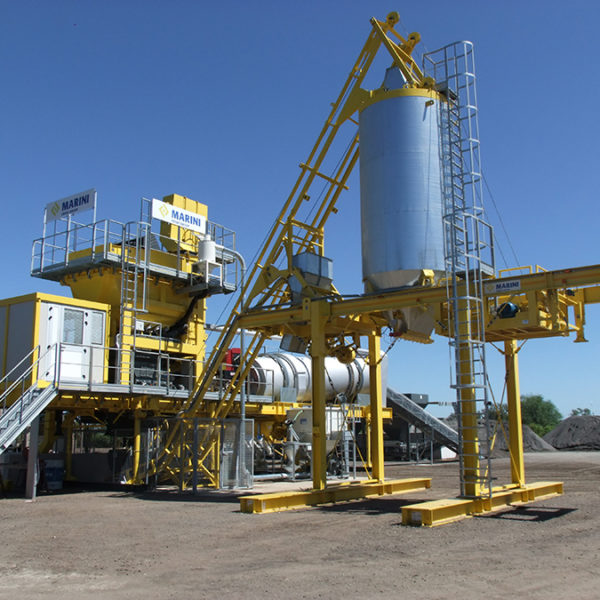 Asphalt Plant Equipment by MARINI