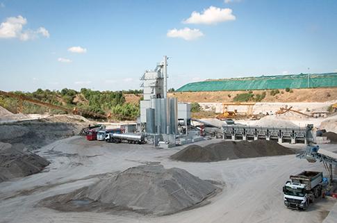Marini Asphalt Plant Top TOWER