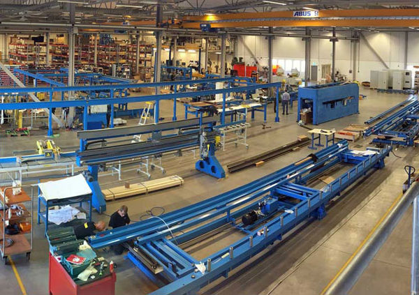 Randek Wall Floor and Roof Automated Production Lines